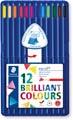 Staedtler crayon de couleur triangulaire Ergosoft 12 crayons