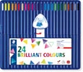 Staedtler crayon de couleur triangulaire Ergosoft 24 crayons