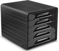 Smoove by CEP ladenblok met 5 laden, zwart