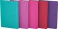 Oxford Signature business journal, ft 18 X 25 cm, gelijnd, 80 vel, soft touch kaft, assorti bright
