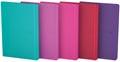 Oxford Signature business journal, ft 18 X 25 cm, geruit 5 mm, 80 vel, soft touch kaft, assorti bright