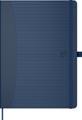 Oxford Signature Business Journal met harde kaft, ft A5, geruit 5 mm, blauw
