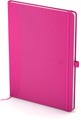 Oxford Signature Business Journal met harde kaft, ft A5, gelijnd, roze