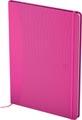 Oxford Signature business journal, ft A5, geruit 5 mm, 80 vel, soft touch kaft, roze