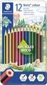 Staedler kleurpotloden Noris Colour, metalen doos 12 stuks