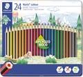 Staedler kleurpotloden Noris Colour, metalen doos 24 stuks