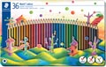 Staedler kleurpotloden Noris Colour, metalen doos 36 stuks