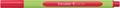 Schneider stylo feutre Line-Up, rouge