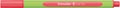Schneider stylo feutre Line-Up, rouge fluo