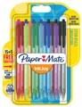 Paper Mate stylo bille InkJoy 100 RT, blister 15 + 5 gratuit