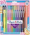 Paper Mate feutre Flair Candypop, blister de 24 pièces en couleurs assorties