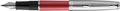 Waterman vulpen Embleme Red Chrome Trim met medium punt