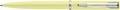 Waterman stylo bille Allure pastel pointe moyenne, dans une boîte cadeau, jaune