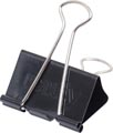Maul Foldbackclip mauly 215, 19mm, zwart, blister van 12 stuks