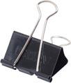 Maul Foldbackclip mauly 215, 32mm, zwart, blister van 12 stuks