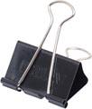 Maul Foldbackclip mauly 215, 40mm, zwart, blister van 6 stuks