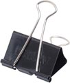 Maul Foldbackclip mauly 215, 50mm, zwart, blister van 6 stuks