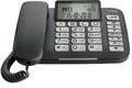 Gigaset DL580 téléphone filaire, grandes touches, noir