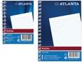 Atlanta by Jalema notitieboekje ft A7, gelijnd, blauw