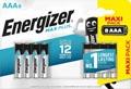 Energizer batterijen Max Plus AAA, blister van 8 stuks