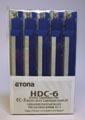 Etona nietjescassette voor EC-3, capaciteit 1 - 25 blad, pak van 5 stuks