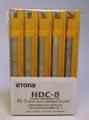 Etona cassette pour agrafeuse EC-3, capacité 26 - 40 feuilles, paquet de 5 pièces