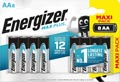 Energizer batterijen Max Plus AA, blister van 8 stuks