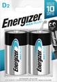 Energizer piles Max Plus D, blister de 2 pièces