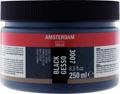 Amsterdam zwarte gesso, fles van 250 ml