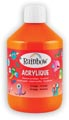 Rainbow peinture acrylique, flacon de 500 ml, orange