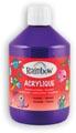 Rainbow peinture acrylique, flacon de 500 ml, violet