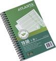 Atlanta by Jalema carnet de notes To Do 'Jungle' ft 125 x 195 mm, 200 pages, paquet de 2 pièces