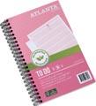Atlanta by Jalema carnet de notes To Do 'Tropical' ft 125 x 195 mm, 200 pages, paquet de 2 pièces