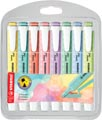 STABILO swing cool pastel surligneur, étui de 8 pièces