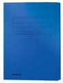 Class'ex dossiermap, 3 kleppen, blauw