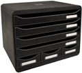 Exacompta ladenblok Storebox Mini, zwart