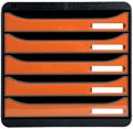 Exacompta ladenblok BIG-BOX PLUS Classic zwart/oranje glossy