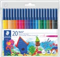 Staedtler viltstift Noris Club 20 stiften