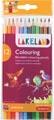 Lakeland crayon de couleur, paquet de 12 pièces en couleurs assorties