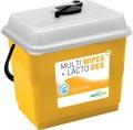 Greenspeed paquet de recharge Multi Wipes (3 x 250 pièces) et Lacto Des (5 l)
