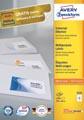 Avery Zweckform 3424, étiquettes universelles, Ultragrip, blanc, 100 feuilles, 105 x 48 mm
