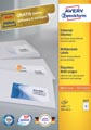 Avery Zweckform 3477, étiquettes universelles, Ultragrip, blanc, 100 feuilles, 105 x 41 mm