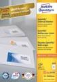 Avery Zweckform 3659, Universele etiketten, Ultragrip, wit, 100 vel, 12 per vel, 97 x 42,3 mm