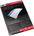 GBC HighSpeed pochette à plastifier, ft A4, 150 micron (2 x 75 micron), paquet de 100 pièces