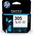 HP inktcartridge 305, 100 pagina's, OEM 3YM60AE, 3 kleuren