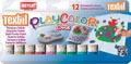 Graine Créative bâton textile PlayColor One, 12 couleurs en étui cartonné