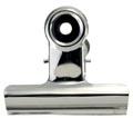 LPC bulldogclip 38 mm, zilver, doosje van 10 stuks
