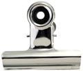 LPC Bulldogclip 51 mm, zilver, doosje van 10