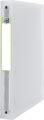 OXFORD 2nd Life classeur à 2 anneaux, format A4, en PP, dos de 4 cm, 4 anneaux, transparent