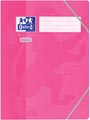Oxford Touch elastomap uit karton, ft A4, roze
